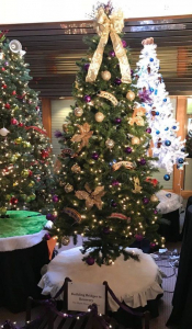 Christmas Tree decorated by Megan's House residents and staff for the Methuen Festival of Trees