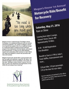 Ride for Recovery - May 21st 2016